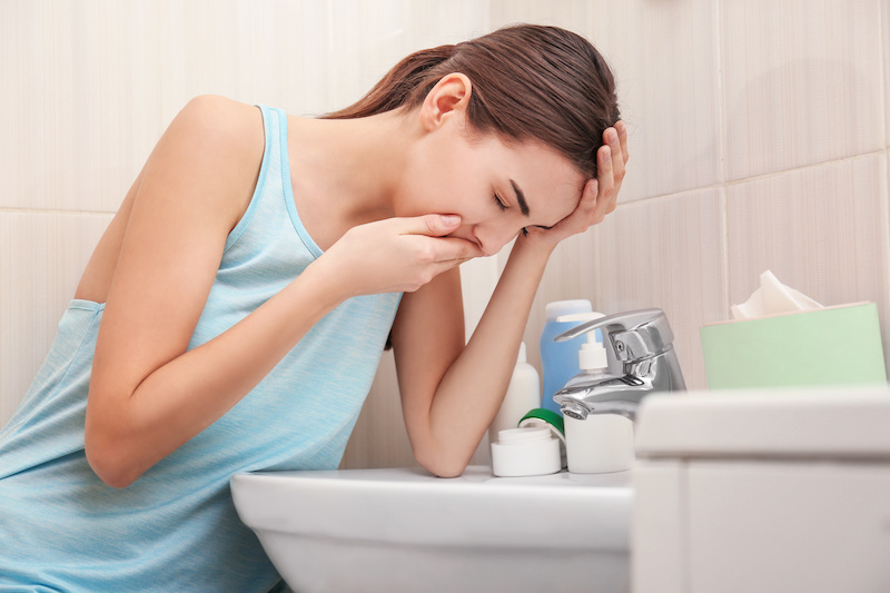 Is my morning sickness normal?