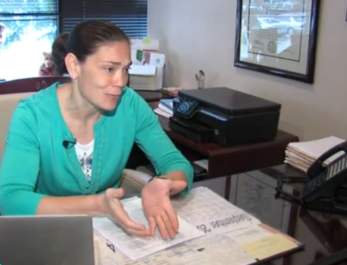 Dr. Michelle Horvath at discusses Pap screening with WGHP TV